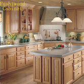 Customized Solid Wood Kitchen Cabinet